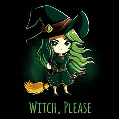 Witch, Please shirt TeeTurtle