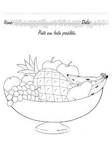 Bau Da Tia Sonia Atividades Atividades Sobre Alimentacao
