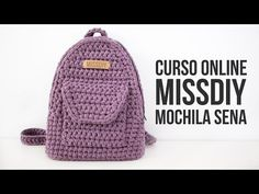 Crochet Lace Bag Handbags Purses 49 New Ideas Mochila Crochet, Bag Crochet, Crochet Shell Stitch, Crochet Backpack, Crochet Handbags, Crochet Purses, Crochet Stitches, Drawstring Backpack, Fingerless Gloves Crochet Pattern