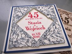 45 years after wedding card