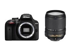D3400 + Nikon AF-S 18-140mm Lens Kit
