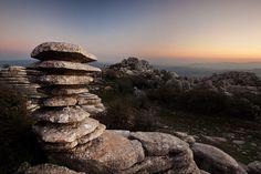 El torcal, Andalucía