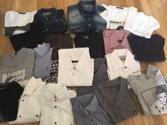 Shirts and T shirts from a West Ham United Player James Colins, PRPS, Dolce&Gabbana, DSQUARED2, Vivienne Westwood,  and Gucci for sale on To Style A Mocking online shop next week