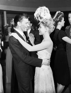 Frank Sinatra and Gloria DeHaven in Step Lively
