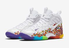 "The Nike Little Posite Pro ""Fruity Pebbles"" is releasing in-store and online tomorrow at Foot Locker. The shoes are a direct play off of the legendary Nike LeBron 4 that was created years ago, inspired by LeBron James' favorite breakfast … Continue reading →"