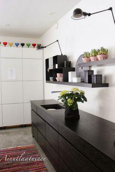 ainutlaatuinen.blogspot.fi Kaunis, kaunis keittiö!