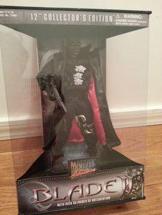 "Blade 2 Wesley Snipes 12"" Action Figure by Toybiz & Marvel"