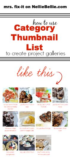 A tutorial on how to use Category Thumbnail List to create project galleries for WordPress. These galleries update automatically once instal...