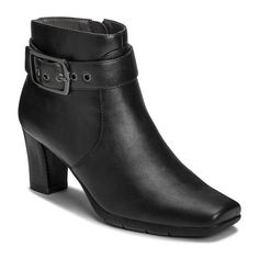 A2 by Aerosoles Monorail Women's Ankle Boots, Size: medium (10.5), Black