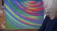 Thoma Ewen is an international tapestry artist based in Quebec, Canada. Her website is http://moonrain.ca