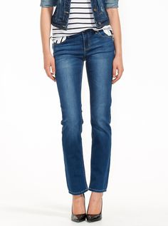 Get it straight in our men's Straight Jeans. Straight from waist to hem, these easy-wear jeans come in new skinny straight, slim, and regular straight styles. Jeans Fabric, Knitwear, Calvin Klein, Wrap Dress, Man Shop, Clothes For Women, Denim, Pants, Jackets