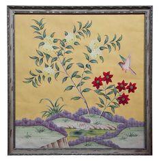 Vintage Framed Gracie Wallpaper