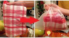 Vyváranie utierok už neriešim: Geniálna finta, ako vyčistiť utierky za pár sekúnd a že zídu aj odolné škvrny! Go Green, Clean House, Gift Wrapping, Cleaning, Homemade, Gifts, Home Decor, Scrappy Quilts, Gift Wrapping Paper