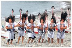 Aboriginal Tao hair dance, #Taiwan