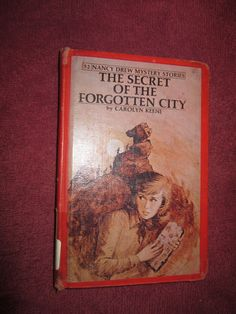 The Secret of the Forgotten City by Carolyn Keene - Nancy Drew # 52 - 1975 ~~ For Sale At Wenzel Thrifty Nickel eCRATER store