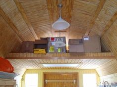 Add A Loft To Our Shed To Help Organize Storage