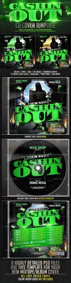 Cash Money Mixtape Or Flyer Template Cash Money Flyer Template