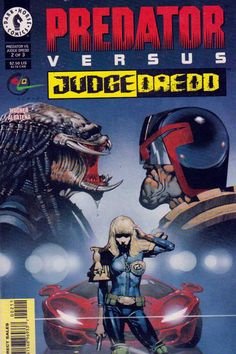 Predator versus Judge Dredd was a limited three-issue comic book series published by Dark Horse Comics and Fleetway Comics from October-December 1997.  The series was written by John Wagner, illustrated by Enrique Alcatena, lettered by Gary Fields, and colored by Perry McNamee, John Hanan III, Jimmy Johns & Dave Stewart. The series featured covers by Brian Bolland, painter Dermot Power and Igor Kordey. It was edited by Philip Amara.