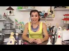 ▶ Bride and Groom Figurines with Verusca Walker for Learn Cake Decorating Online - YouTube