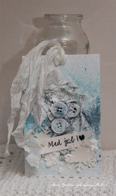 Anne's paper fun: Mixed media gift tags