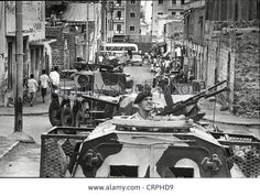 British Troops During Aden Emergency. A Joint Stock Photo, Picture And Royalty Free Image. British Tanks, Armoured Personnel Carrier, Armored Vehicles, Cold War, Armed Forces, Historical Photos, Troops, Middle East, Firefighter