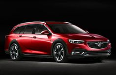 Bask in the Glory of the Horsepower-Happy New York Auto Show | Rejoice wagon fans! Here's one that's not dressed up as an SUV. The Buick Regal TourX has some of the same design elements as Buick's gorgeous Avista concept.  | Credit: Buick | From Wired.com