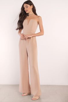 Go all out in the katrina wide leg jumpsuit. This strapless jumpsuit is both sexy and classy. Ared legs and a zipper cl - fast & free Strapless Jumpsuit, Jumpsuit Dress, Long Jumpsuits, Jumpsuits For Women, Cocktail Jumpsuit, Formal Jumpsuit, Lace Leggings, Jumpsuit Pattern, Dressed To Kill