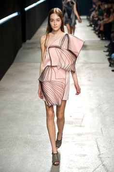 All of the best looks from London Fashion Week: Christopher Kane