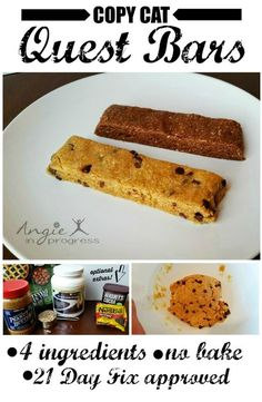 Easy to make. Easy to eat. Easy to make. Easy to eat. Easy to make. Easy to eat. Quest Protein Bars, Low Fat Protein, Low Carb Protein Bars, Protein Bar Recipes, Protein Cake, Protein Powder Recipes, Protein Snacks, Protein Cookies, Protein Muffins