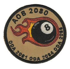 Special Forces Pocket Patch 20th SFG(A) AOB 2080 (ODA's 2081, 2084 & 2086)