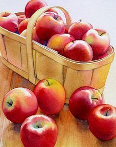 Apple Basket by Barbara Fox