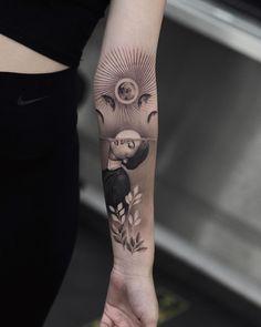 """Jefree on Instagram: """"#jefreenaderali #art #ink #sunset #sunsettattoo #flowers #portraittattoo @aykutmaykut ➡️ @inkjectapro @radiantcolorsink ⬅️"""" Sunset Tattoos, Piercings, Ink, Flowers, Instagram, Tatoos, Peircings, Piercing, India Ink"""