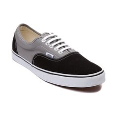 Shop for Vans LPE Skate Shoe in Black Grey at Journeys Shoes. Shop today for the hottest brands in mens shoes and womens shoes at Journeys.com.Lo Profile Era. Its a slimmed down version of the classic Vans Era. Features include a two tone canvas upper with contour stitching, padded collar, and vulcanized outsole with micro waffle tread. Available only online at Journeys.com!