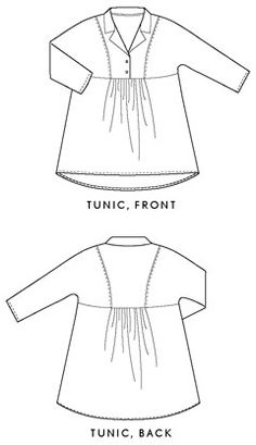 Digital Late Lunch Tunic Sewing Pattern | Sewing Pattern Shop | Oliver + S