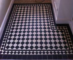 Geometric design of Victorian tiles