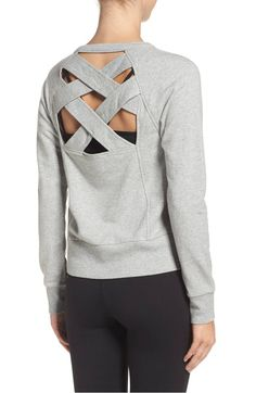 covet crisscross sweatshirt nordstrom