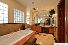 I want a tv in my bathroom!