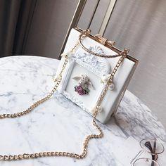 Luxury 3D Golden Angel Handbag Harajuku Fashion, Japan Fashion, Kawaii Fashion, New Fashion, Fashion Ideas, Dolce & Gabbana, Designer Purses And Handbags, Purses And Bags, Girls Bags