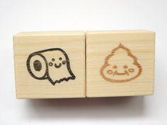 Poo y aseo papel sellos ruber Poo sello, esfínteres, cupones de regalo divertido, papelería Kawaii, kawaii idea de regalo, juguete para niños de JapaneseRubberStamps en Etsy https://www.etsy.com/es/listing/155266039/poo-y-aseo-papel-sellos-ruber-poo-sello