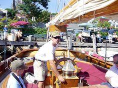 Beginning our sail in Camden