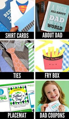 Give Dad a gift he'll remember forever with this list of over one hundred Father's Day crafts for kids! Your littles will love creating a homemade card, gift, or keepsake.