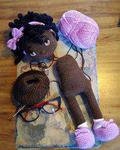 Amigurumi Patterns, Amigurumi Doll, Doll Patterns, Crochet Doll Pattern, Crochet Dolls, Crochet Patterns, Crochet For Kids, Free Crochet, Crochet Angels