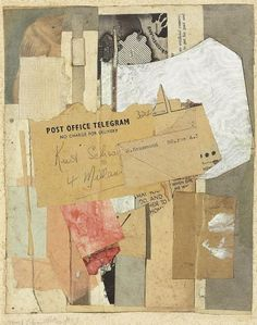 Kurt Schwitters (1887-1948) No Charge for Delivery, 1947