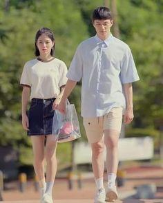 Teen Web, Ulzzang Short Hair, Teen Images, Web Drama, Weightlifting Fairy Kim Bok Joo, Ulzzang Couple, Girl Short Hair, Korean Artist, Best Couple