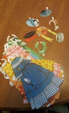 I used to love paper dolls!