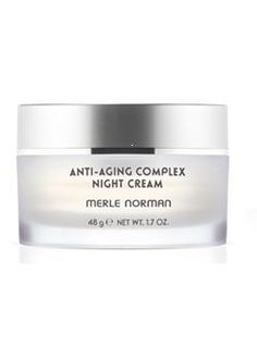 Your skin works so hard at night to repair damage seen during the day.  Give yourself Anti-Aging Complex Night Cream to help loose signs of aging while you sleep!