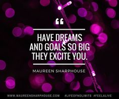 Have dreams and goals so big they excite you and take action every single day to make them come true x #lifeofnolimits #feelalive #lifecoach #lifecoaching #mentor #mindset #success #nlp #gratitude #bestlife #personaldevelopment Get your free personal d