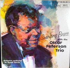 Oscar Peterson Trio : Swinging Brass