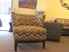 Accent chair in 266 fabric