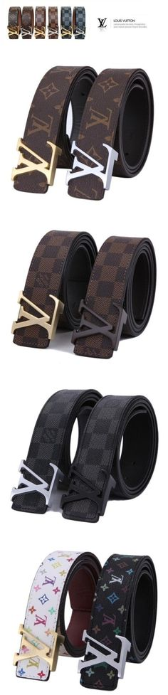 Wish List- LV belts left, right and centre!most fashionable lv belts collection,46$ only!Louis vuitton belts popular gift for her!♥♥♥